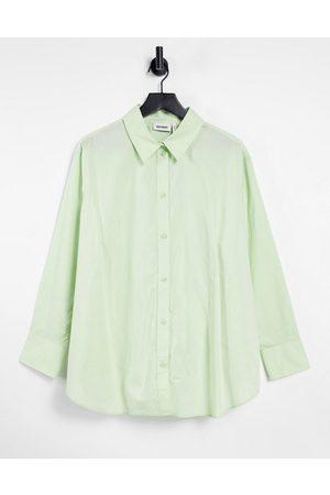 Weekday – Edyn – Popeline-Hemd aus Bio-Baumwolle in