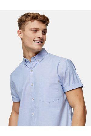 Topman – Schmales Oxford-Hemd in Hellblau