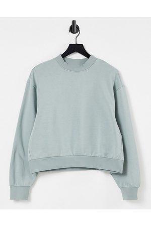 Weekday – Amaze – Sweatshirt in Khaki
