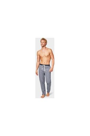 TOM TAILOR Herren Stoffhosen - Karierte Pyjama Hose, Herren, blue-medium-check, Größe: 50/M