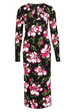 Tom Ford Kleid aus Jersey-Krepp mit Blumenprint