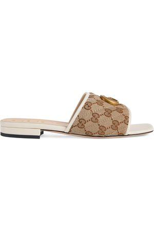 Gucci Damen Clogs & Pantoletten - Damenpantolette mit Doppel G
