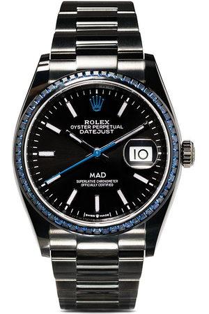MAD Paris Personalisierte pre-owned 'Rolex Datejust' 36mm Armbanduhr