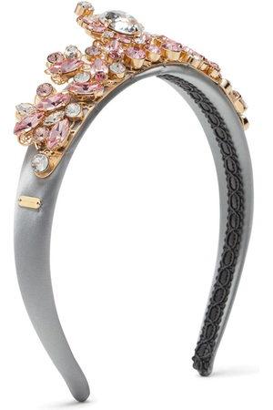 Dolce & Gabbana Haarreif mit Kristallverzierung
