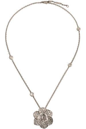 Carrera 18kt Weißgoldhalskette mit Diamanten