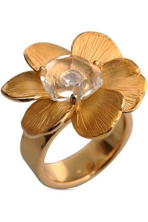 Carrera 18kt Gelbgoldring mit Diamanten