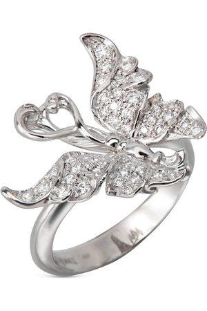 Carrera 18kt Weißgoldohrringe mit Diamanten