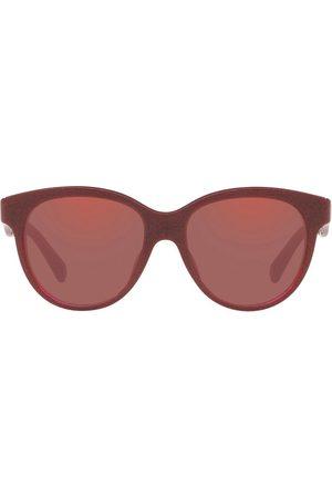 Dolce & Gabbana Mädchen Sonnenbrillen - Runde Sonnenbrille im Glitter-Look