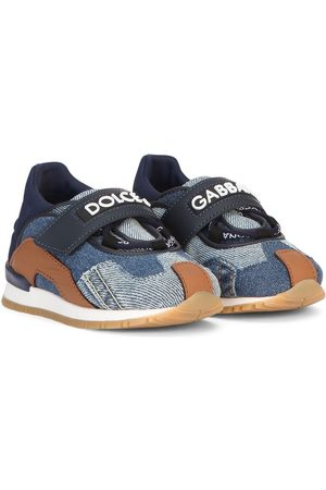 Dolce & Gabbana Jeans-Sneakers im Patchwork-Look