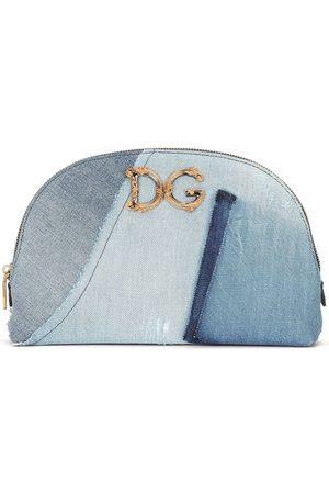 Dolce & Gabbana Damen Kulturbeutel - Klassische Kosmetiktasche