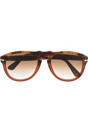 Persol Herren Sonnenbrillen - Pilotenbrille in Schildpattoptik