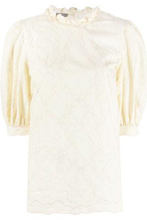 Alberta Ferretti Damen Blusen - Bluse mit Puffärmeln