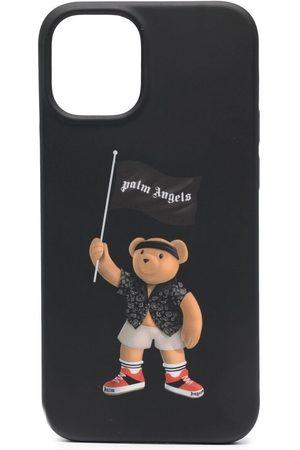 Palm Angels Herren Handy - IPhone 12 -Hülle mit Teddy