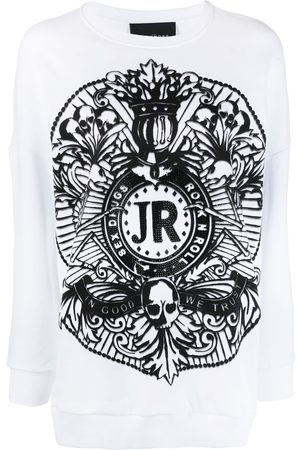 John Richmond Damen Sweatshirts - Sweatshirt mit grafischem Print