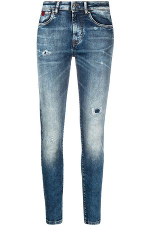 John Richmond Halbhohe Skinny-Jeans