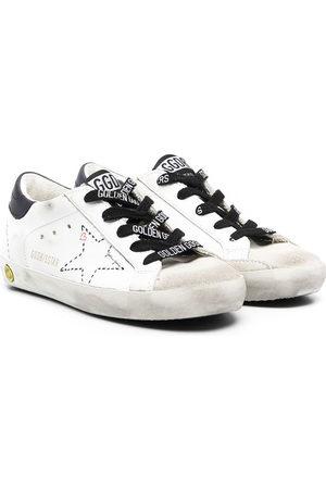 Golden Goose Superstar Sneakers im Used-Look