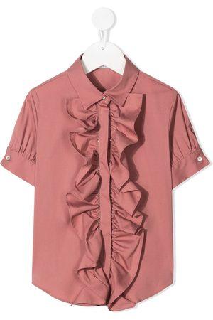 Brunello Cucinelli Hemd mit Rüschen