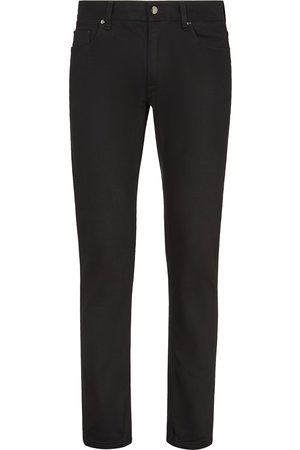 Fendi Herren Slim - Schmale Jeans mit FF-Stickerei