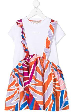 Emilio Pucci TEEN T-Shirtkleid mit Sal-Print