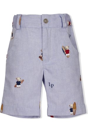 Lapin House Shorts mit Surfer-Print