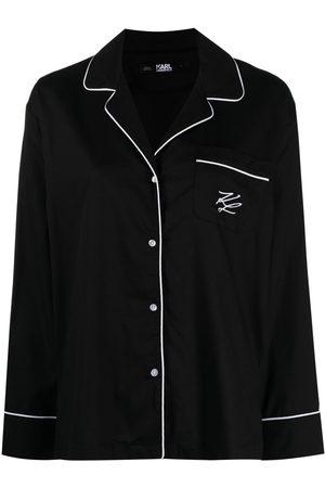 Karl Lagerfeld Pyjama mit Logo
