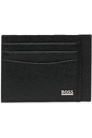 HUGO BOSS Herren Geldbörsen & Etuis - Kartenetui mit Logo-Print