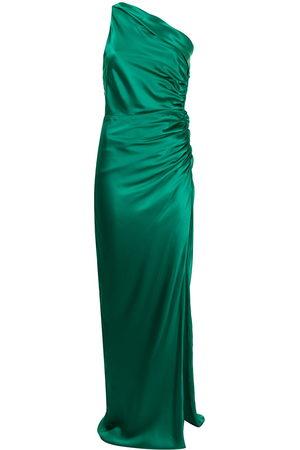 Michelle Mason Asymmetrische Robe mit Raffung