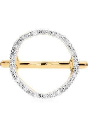 Monica Vinader Damen Ringe - Riva Diamantenring