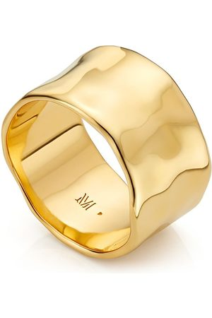 Monica Vinader Damen Ringe - Siren Muse wide ring