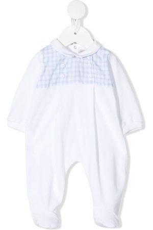 LA STUPENDERIA Pyjama mit kariertem Einsatz