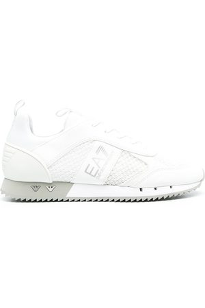 EA7 Herren Sneakers - Sneakers mit Logo-Streifen