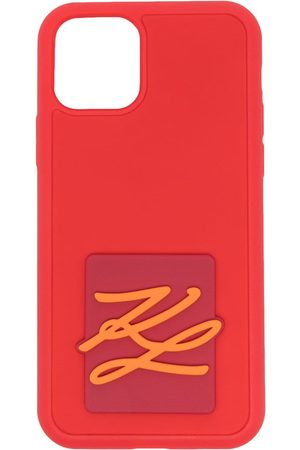 Karl Lagerfeld Damen Handy - Karligraphy iPhone 11-Hülle
