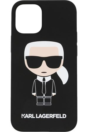 Karl Lagerfeld Damen Handy - Ikonik iPhone 12-Hülle