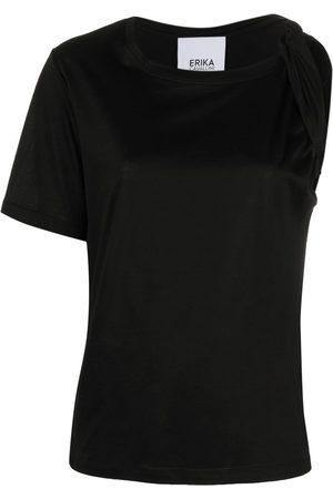 ERIKA CAVALLINI Asymmetrisches T-Shirt