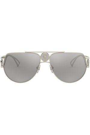 VERSACE Herren Sonnenbrillen - Pilotenbrille mit Medusa