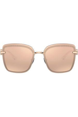 Bvlgari Oversize frame sunglasses