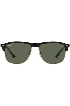 Ray-Ban Clubmaster Sonnenbrille mit D-Gestell
