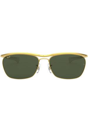 Ray-Ban Sonnenbrillen - Eckige Olympian II Deluxe Sonnenbrille