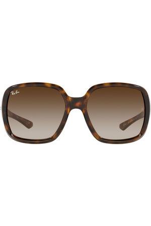 Ray-Ban Sonnenbrillen - Oversized-Sonnenbrille in Schildpattoptik