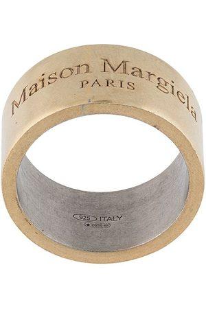 Maison Margiela Herren Ringe - Ring mit Logo-Gravur