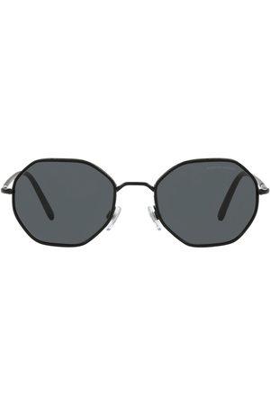 Armani Herren Sonnenbrillen - Sonnenbrille mit rundem Gestell