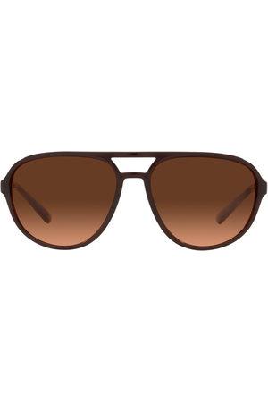 Dolce & Gabbana Herren Sonnenbrillen - Pilotenbrille mit Farbverlauf