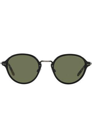 Armani Sonnenbrille mit rundem Gestell