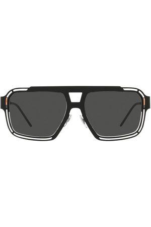 Dolce & Gabbana Herren Sonnenbrillen - Eckige Sonnenbrille mit Logo
