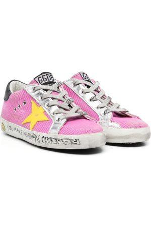Golden Goose Mädchen Sneakers - Superstar Sneakers im Used-Look