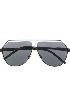 Dolce & Gabbana Herren Sonnenbrillen - Pilotenbrille mit Cut-Out