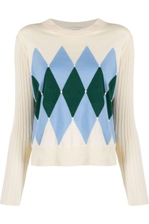 BALLANTYNE Damen Strickpullover - Pullover mit Strickmuster