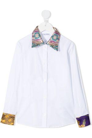 Dolce & Gabbana Mädchen Blusen - Hemd mit bedruckten Details