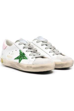 Golden Goose Superstar Sneakers mit Glitter-Detail