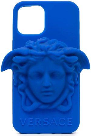 VERSACE Herren Handy - IPhone 12 Pro-Hülle mit Medusa